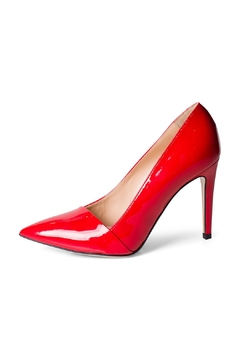 Lady Doc Red Patent Pumps - Product List Image