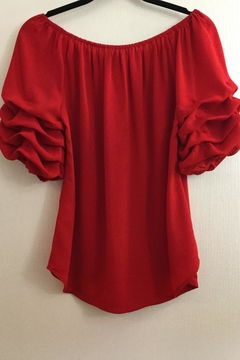 8383fad248 Shoptiques Product  Red Peasant Blouse ...