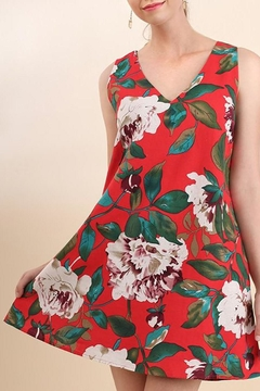 Shoptiques Product: Peony Print Dress