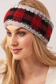 Giftcraft Inc.  Red Plaid headband - Product Mini Image