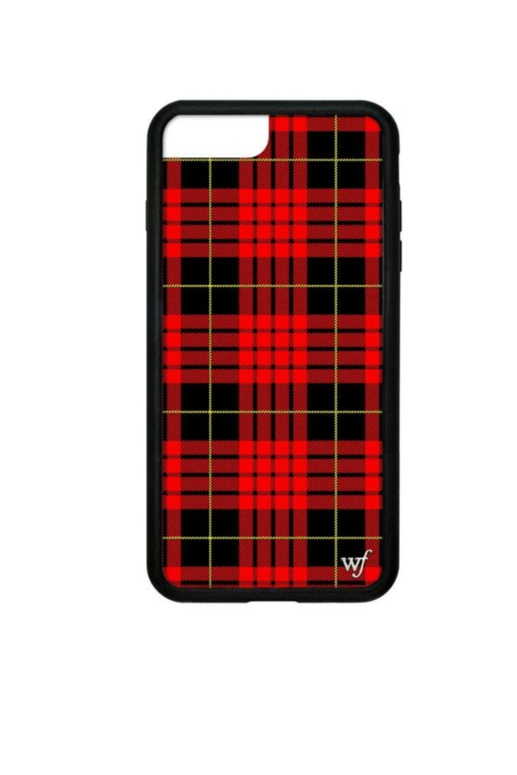Wildflower Cases Red Plaid iPhone 6+/7+/8+ Case - Main Image