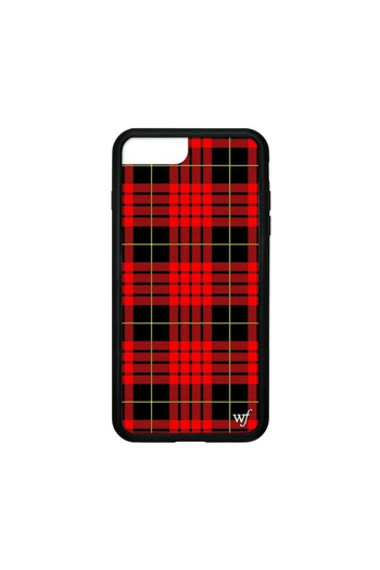 the latest ff806 24efe Wildflower Cases Red Plaid iPhone 6/7/8 Case from New York by Let's ...