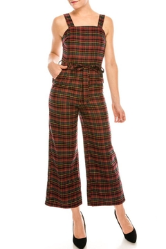 Very J Red Plaid Jumper - Product List Image