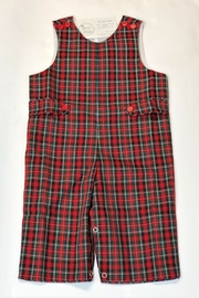 Mom and Me Red Plaid Longall - Front cropped