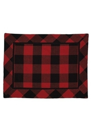 Park Designs Red Plaid Placemat - Product Mini Image