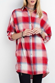 easel Red Plaid Shirt - Product Mini Image