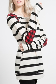 12pm by Mon Ami Red Plaid Stripe - Product Mini Image