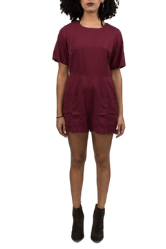 Native Youth Red Playsuit - Product List Image