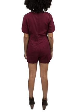 Native Youth Red Playsuit - Alternate List Image
