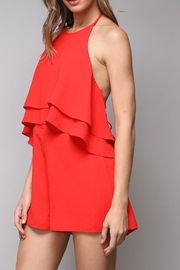 Do & Be Red Playsuit Romper - Product Mini Image