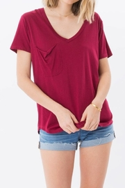 z supply Red Pocket Tee - Front cropped