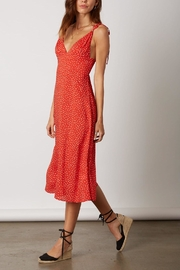 Cotton Candy LA Red Polka-Dot Dress - Front full body