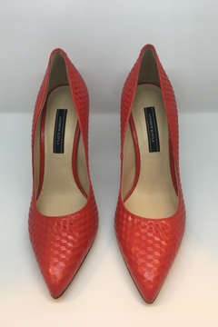 Andrew Kayla Red Pump - Product List Image