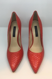 Andrew Kayla Red Pump - Product Mini Image