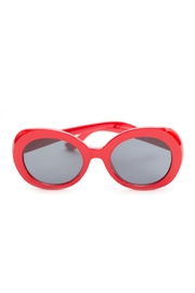 Ocean and Land Red Retro Sunglasses - Product Mini Image