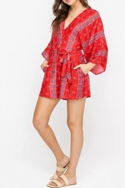 Lush Red Romper - Product Mini Image