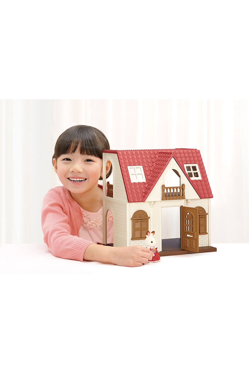 Calico Critters Red Roof Cozy Cottage - Side Cropped Image