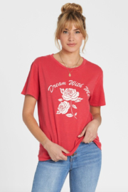 Billabong Red Rose Dream Tee - Product Mini Image