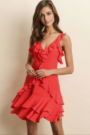 dress forum Red Ruffled Dress - Product Mini Image