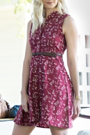 Mata Traders Red Sails Dress - Front cropped