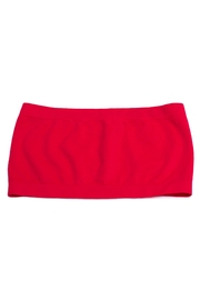 Zenana Red Seamless Bandeau - Product Mini Image