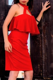 Sthela & Co Red Sexy Dress - Product Mini Image