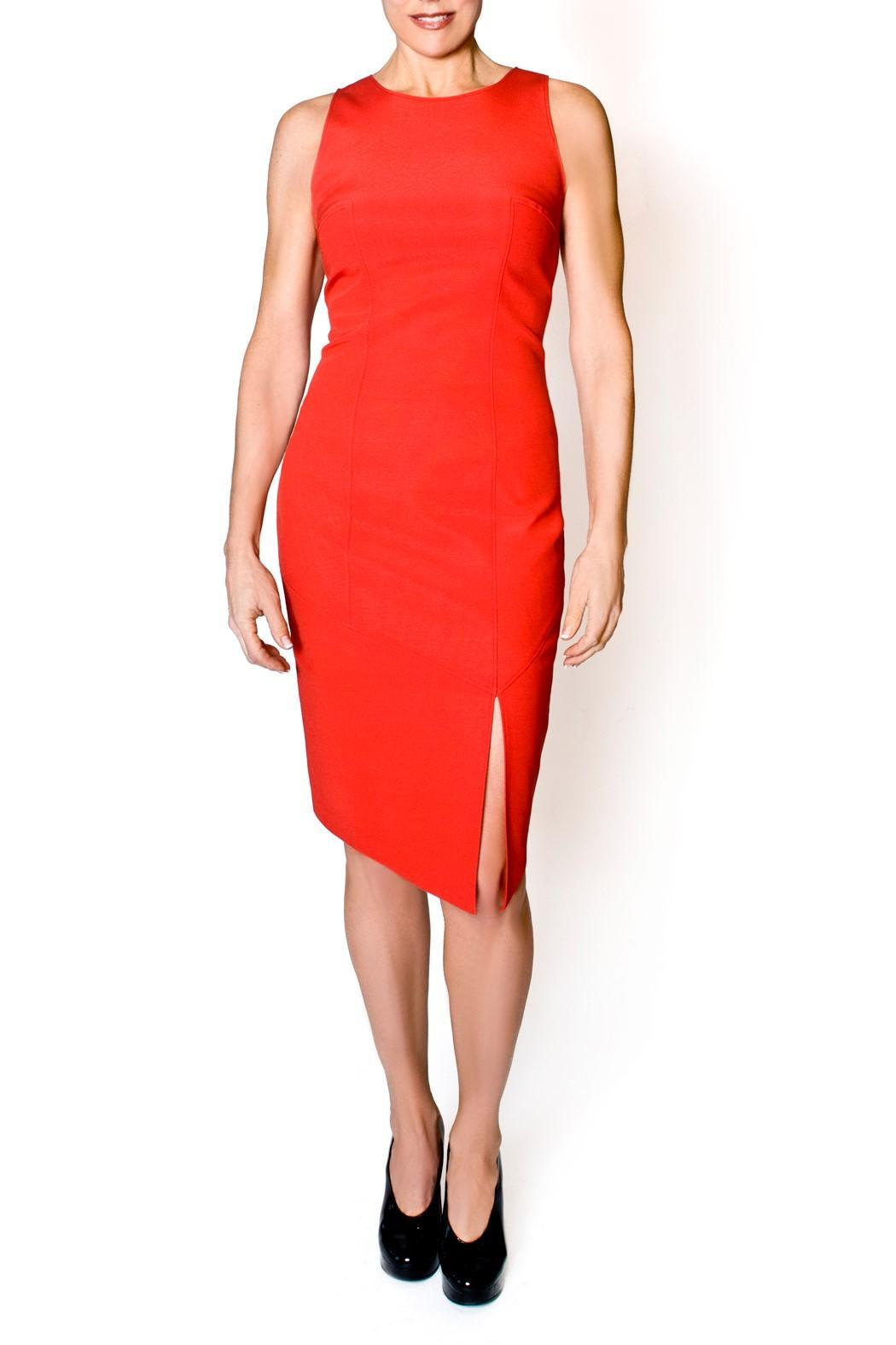 bella Forte Boutique Red Sheath Dress - Main Image