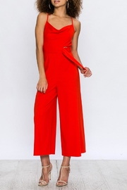 Jealous Tomato Red Sleeveless Jumpsuit - Product Mini Image