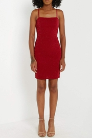 Soprano Red Sparkle Dress - Product Mini Image