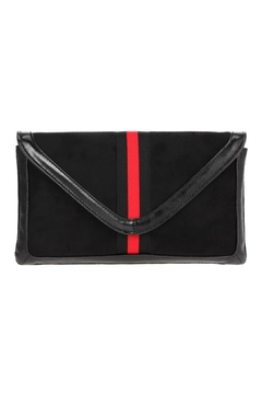 Shoptiques Product: Red Stripe Clutch