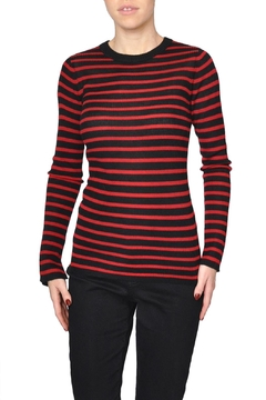 Just Female Red Stripe Top - Product List Image