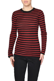 Just Female Red Stripe Top - Product Mini Image