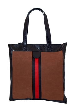 Shoptiques Product: Red Stripe Tote