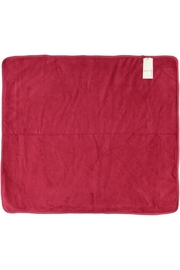 Juste Clé Red Striped Blanket - Side cropped
