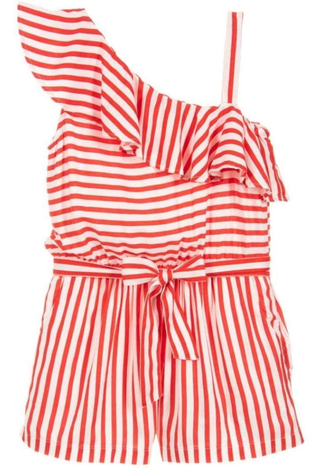 e7ef72200e Mayoral Red Striped Playsuit from Mississippi by Popfizz Boutique ...