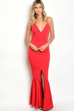 CALS Red Surplice Maxi - Product List Image