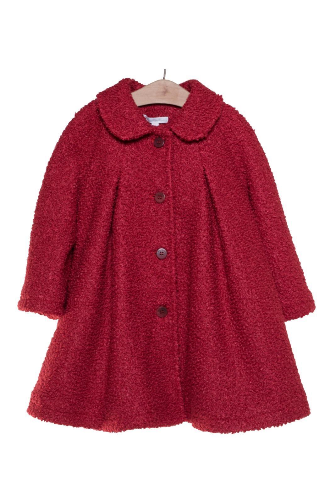 Fina Ejerique Red Swing Coat. - Main Image