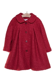 Fina Ejerique Red Swing Coat. - Front cropped