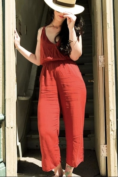 MATE the label Red Tank Jumpsuit - Alternate List Image