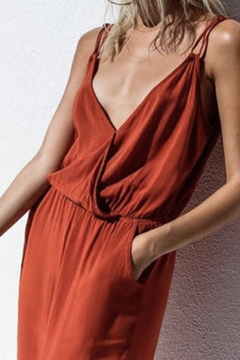 MATE the label Red Tank Jumpsuit - Product List Image