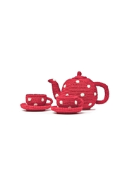 anne-claire petit Red Tea Set - Front cropped