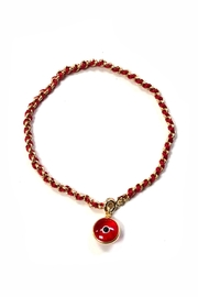 Lets Accessorize Red-Thread Evil-Eye Gold-Bracelet - Product Mini Image