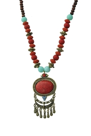 Wild Lilies Jewelry  Red Tribal Necklace - Product Mini Image