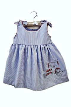 La Jenns Red-Tricycle-Embroidered-Dress - Product List Image