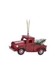 Abbott Collection Red Truck Ornament - Product Mini Image