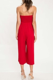 L'atiste Red Tube Jumpsuit - Side cropped