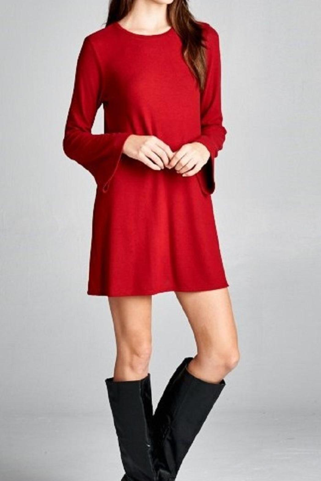 Red Tunic Dress from Texas by Ale's Closet — Shoptiques