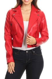 Trac Red Vegan Jacket - Product Mini Image