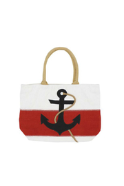 DEI Red White & Blue Anchor Tote - Product Mini Image