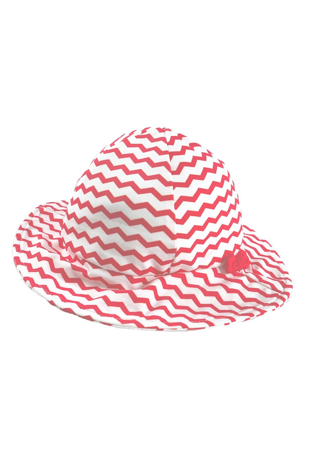 Archimede Red-White 'Julie' Hat - Main Image
